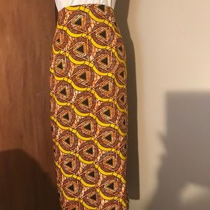 Dresses & Skirts - African Abstract Print Pencil Skirt